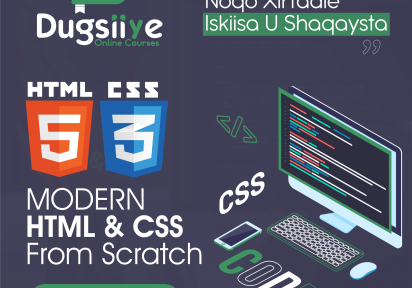 Modern HTML and CSS From Scratch